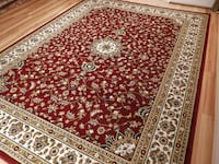 New Red Traditional area rug 5x8  Baltimore