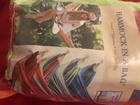 HAMMOCK in a BAG. Brand new. Must pick up. Charlottesville, 22903