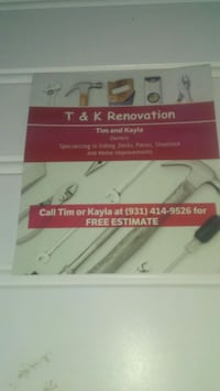 Remodeling, Handyman McMinnville
