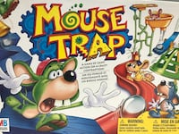 Mousetrap Board Game - $5 Toronto, M8V 1X6