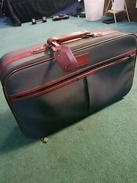 Brown and blue leather travel briefcase/bag Silver Spring, 20902