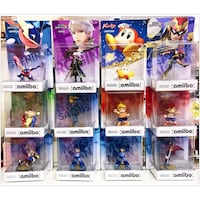 PRICES ARE LISTED ON THE AD - Assorted Amiibos - Brand New Toronto, M4B 2T2