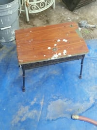 brown wooden table with chair Las Vegas, 89104