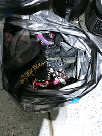 Bag of shoes.