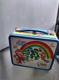 Vintage Care Bear lunch box