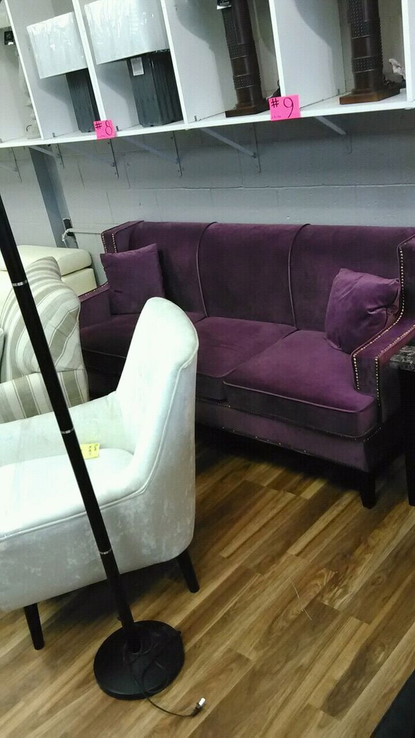 Groovy Purple Sofa Other Couch And Loveseat Deals Here Gmtry Best Dining Table And Chair Ideas Images Gmtryco