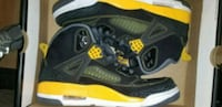 Air Jordan Spizike Black/Yellow  Silver Spring, 20905