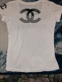 new women's Chanel t-shirt size medium