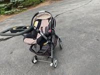 Graco carseat and stroller click connect