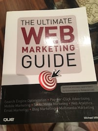 The ultimate web marketing guide book Laval, H7X 2Y4