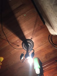 Black pendant lamp negotiable 1211 mi