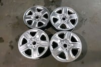 4 rims for Toyota sienna and Rav4 2010 to 2027fit  Toronto