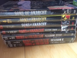 Sons of Anarchy complete series on Dvd
