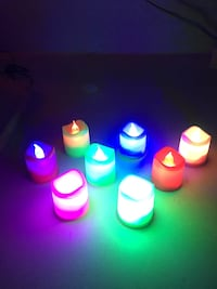 Votive lights change colour $5.00 each  Edmonton, T5Y