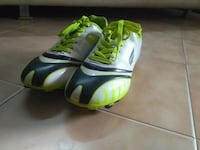 pair of green-and-black  cleat shoes  Faridabad, 121005