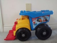 Mega block toy truck with the blocks Cambridge, N1T 1P1