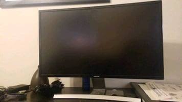 Curved Computer Monitor, Samsung, 27 inches