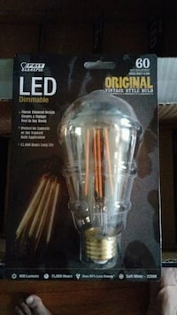 Vintage LED bulbs lot of 8 bulbs (brand new) Summit, 07901
