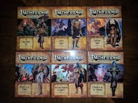 Pathfinder Adventure Path: Mummy's Mask - COMPLETE SET - Vol 79-84 Herndon