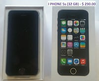 space gray iPhone 5s with box Markham, L3S