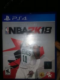 Sony PS4 NBA 2K17 game case Tallahassee, 32301