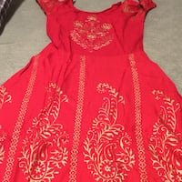 Frock red with jacket and blue each $20 Brampton, L6Z 1W1