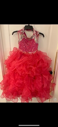 Pageant dress- size 7/8 also have a 10/12