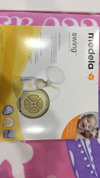 White and yellow medela breast pump box Surrey, V3S 6R4