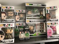 Ghostbusters Set Funko Pops Mississauga, L5A 4E7