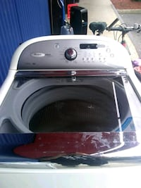 white top-load clothes washer Queens, 11413