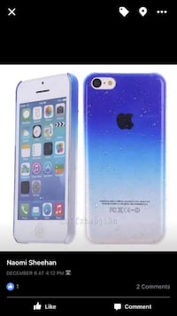 Brand New Ombré Blue Case only iPhone 5,5s 1778 mi