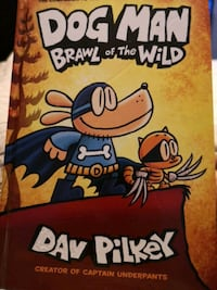 Dog man brawl of the wild dav pilkey book captain underpaNts Mississauga, L5A 3X2