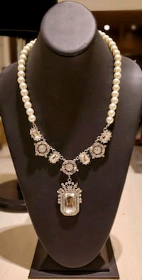 Pearl Victorian Jeweled Pendant Necklace  Leesburg, 20176