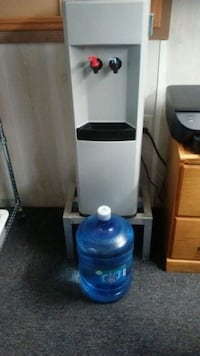Water cooler Hot and Cold with 10 bottles of water Bowleys Quarters, 21220