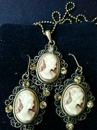 Victorian Style Inspired Lady Cameo Set  Whittier, 90602