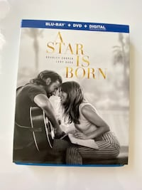 A Star is Born Blu-ray DVD & digital code Bethesda, 20814