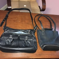 Womans Black Leather Purses Arlington, 76016
