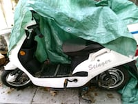 white and black motor scooter Mississauga, L4Y 2X2