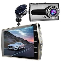 """Dash Cam, 4"""" FHD LCD Dash Camera 1080P, 170 Degree Wide Angle Dashboard Camera Recorder with G-Sensor, Nighthawk Vision and Loop Recording, SD Card Not Included 215 mi"""