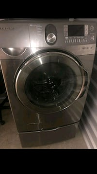 Samsung washer dryer set stainless  San Antonio, 78244