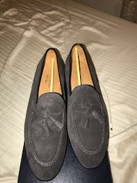 pair of gray leather loafers Euless, 76039