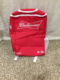New Never used Large Budweiser Backpack  Edmonton, T6L