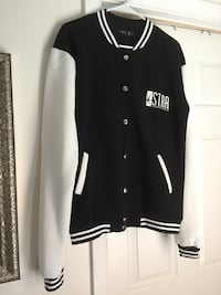 black and white letterman jacket 28 mi