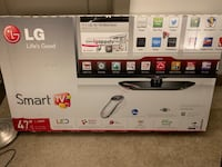 black LG flat screen TV box Rockville, 20850