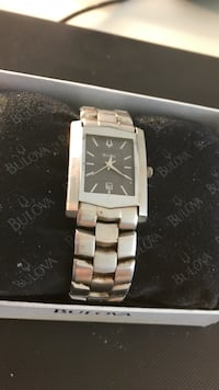 Silver Bulova Watch 17yrs old in great running condition Rhome, 76078