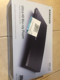 Samsung 4K blueray player New Orleans, 70131
