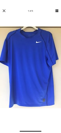 Authentic Nike Pro Men's XL Short SL Poly/Spandex Fitted Athletic/Training Shirt Las Vegas, 89147