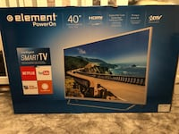 "New Element 40"" inch smart tv with box Toronto, M3L 1S2"