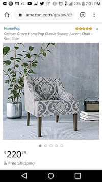 Beautiful high-end accent chair