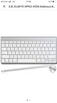 apple wireless a1314 keyboard klavye Esenyurt, 34510